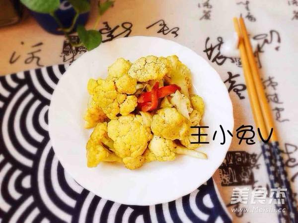 咖喱菜花怎么吃