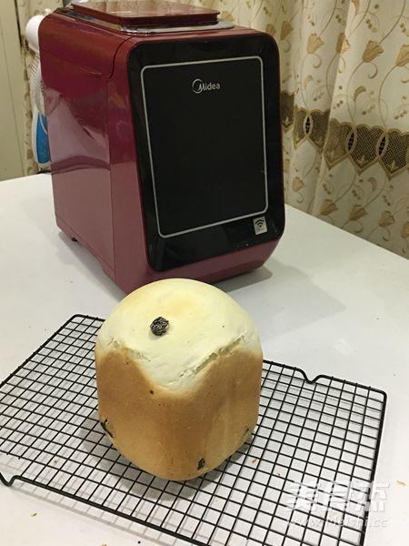 一键式葡萄干土司的步骤