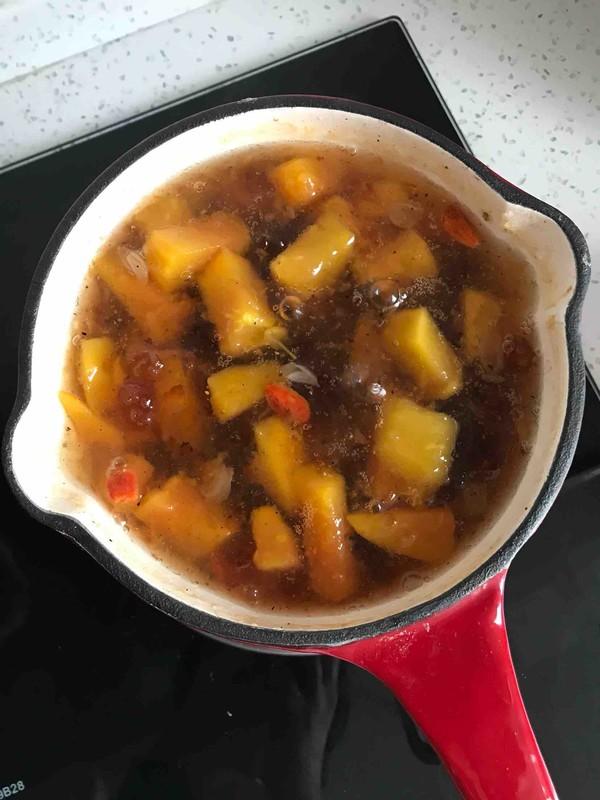 养颜桃胶木瓜怎么做