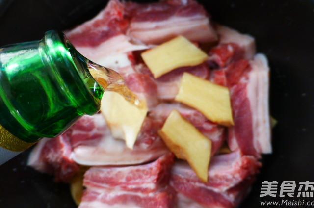 酒香百叶结烧肉怎么吃