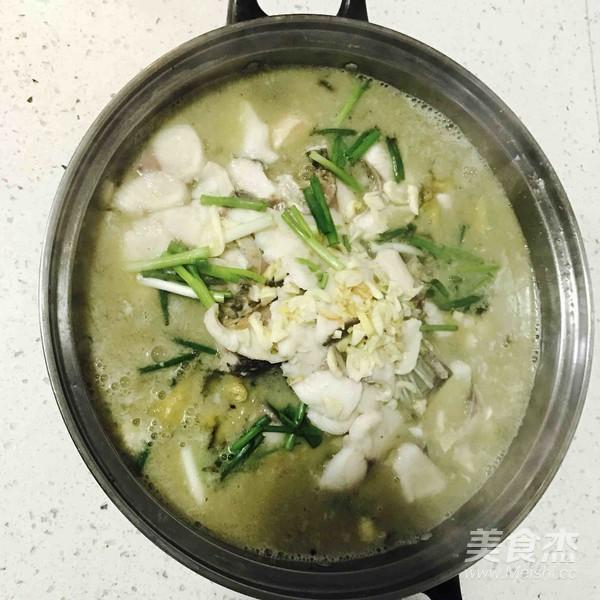 酸菜鱼怎么煮