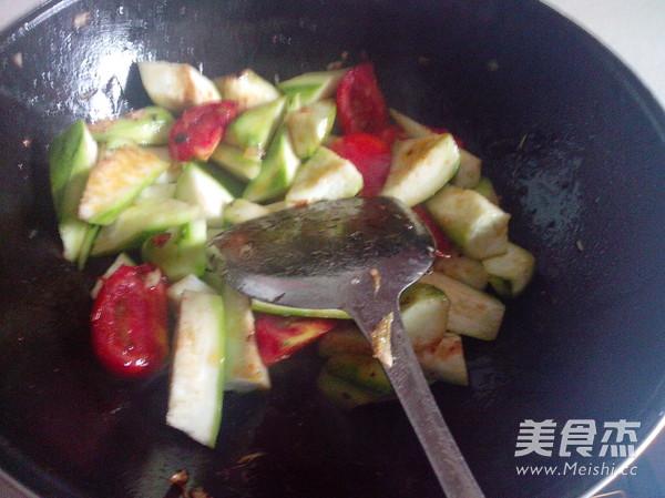 番茄炒丝瓜怎么做