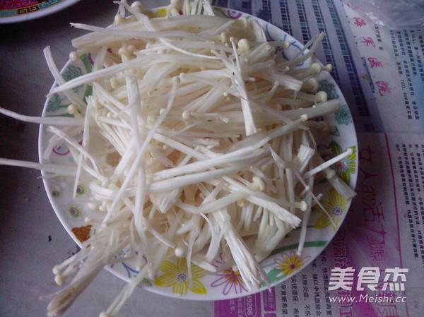 金针菇肉丸汤怎么吃