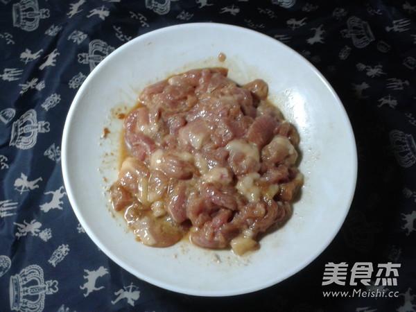 茭白炒肉的做法图解