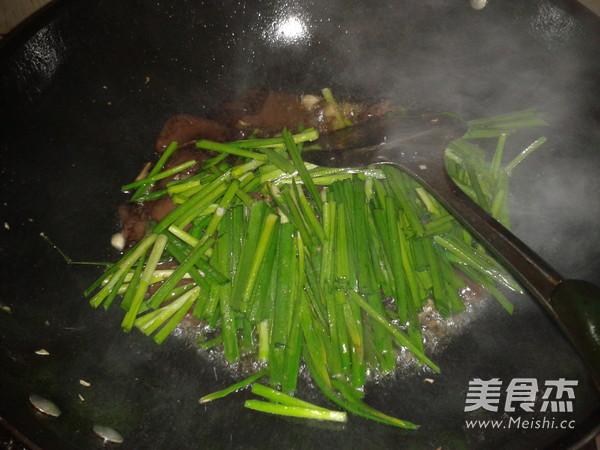 韭菜炒猪血怎么煮