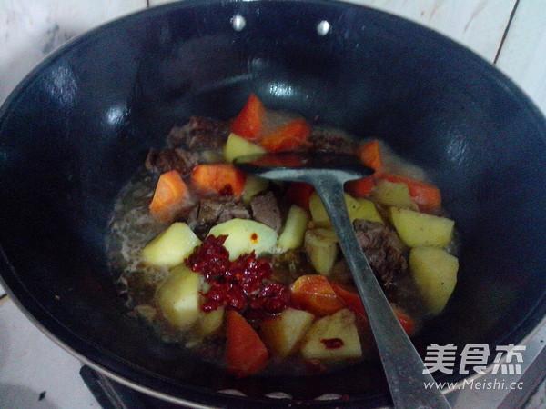 萝卜土豆烧牛肉怎么炖