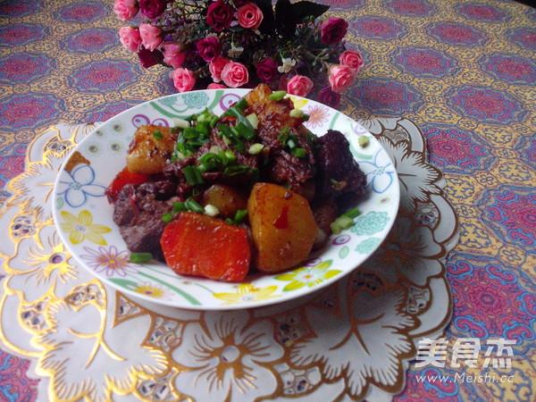 萝卜土豆烧牛肉怎样炒