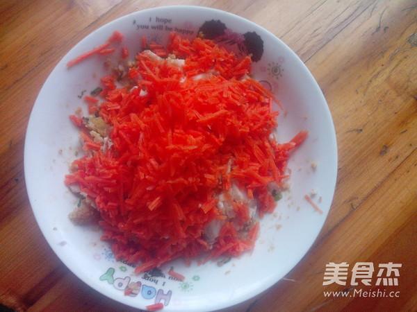 红萝卜肉包子怎么做