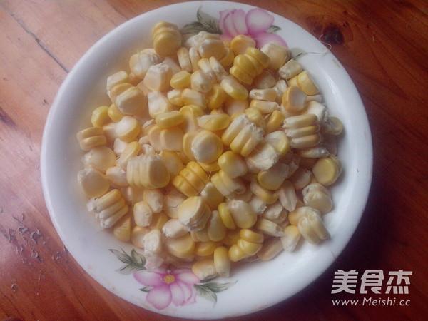火腿炒玉米的做法图解