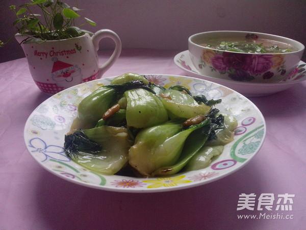 清炒上海青怎么煮