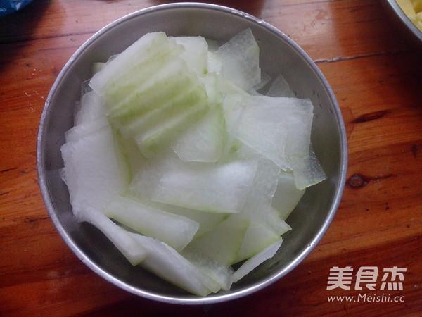 虾米冬瓜汤的简单做法