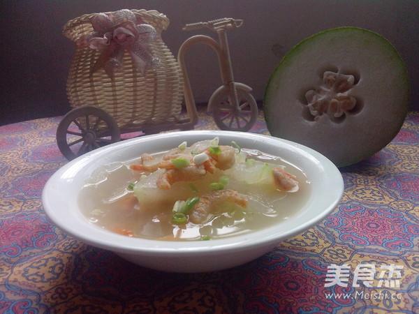 虾米冬瓜汤怎样做