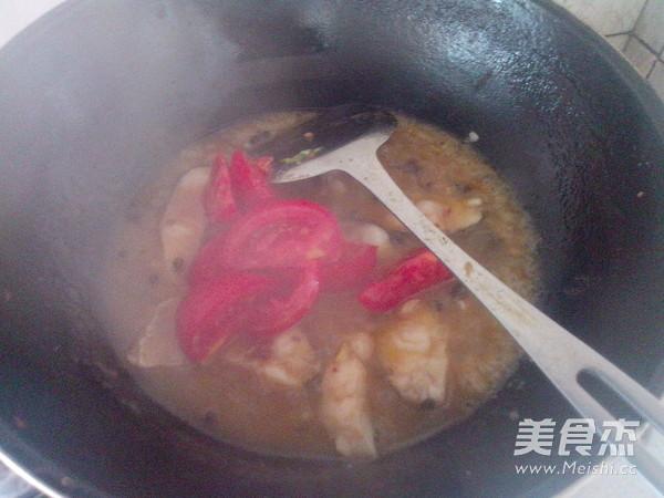 番茄烧鱼块怎么炖