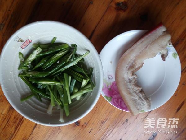 蒜苗回锅肉的做法图解