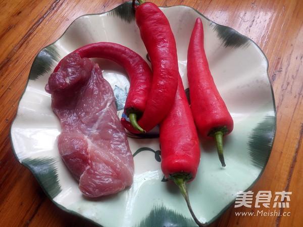 红辣椒炒肉的做法大全