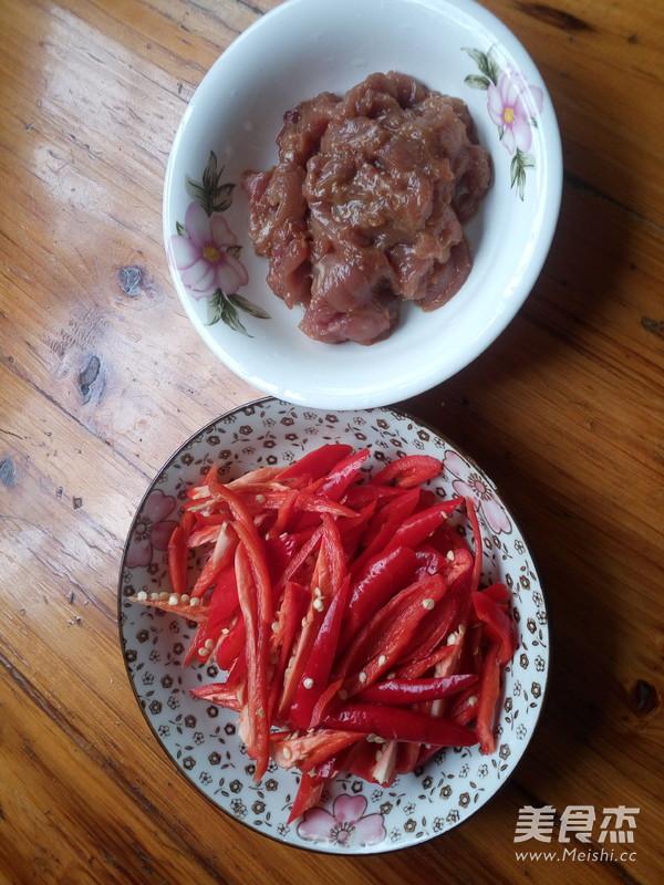 红辣椒炒肉的做法图解
