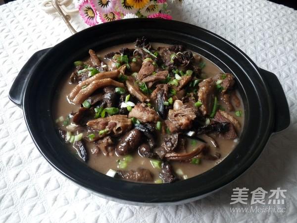 榛蘑炖鸭肉怎么煸