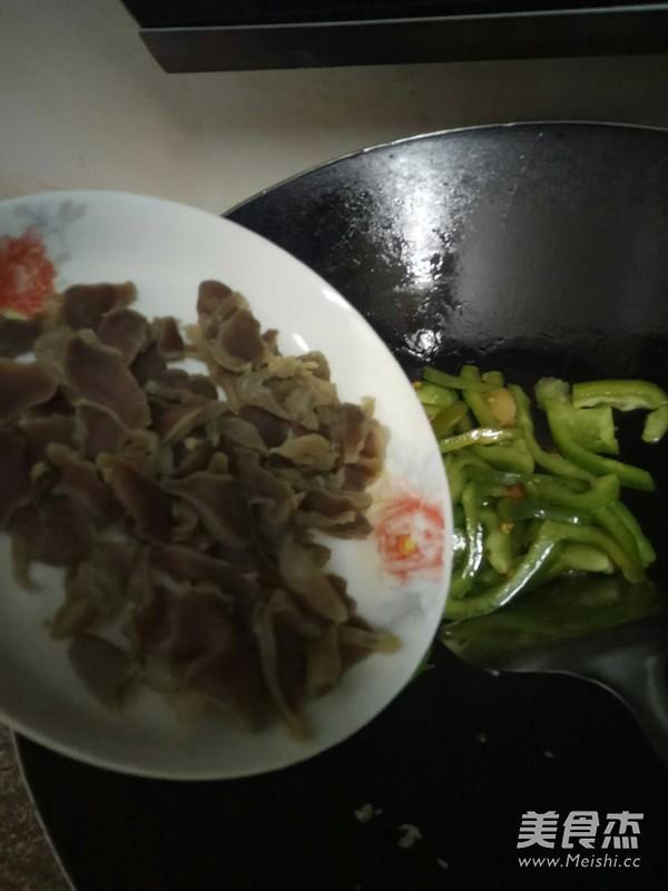青椒鸭胗怎么煮