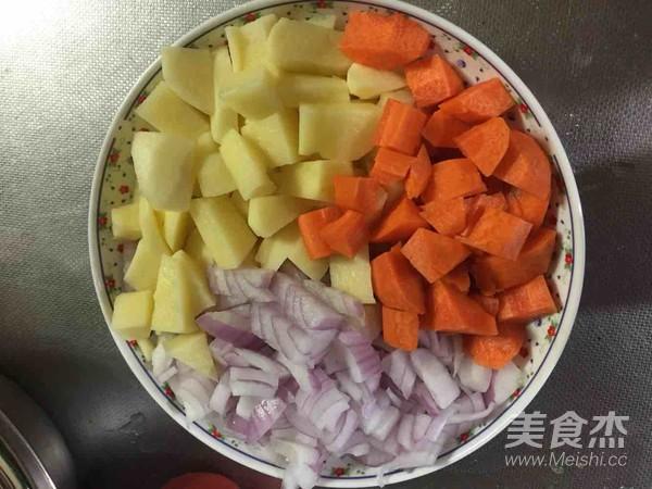 土豆鸡肉咖喱饭的做法大全