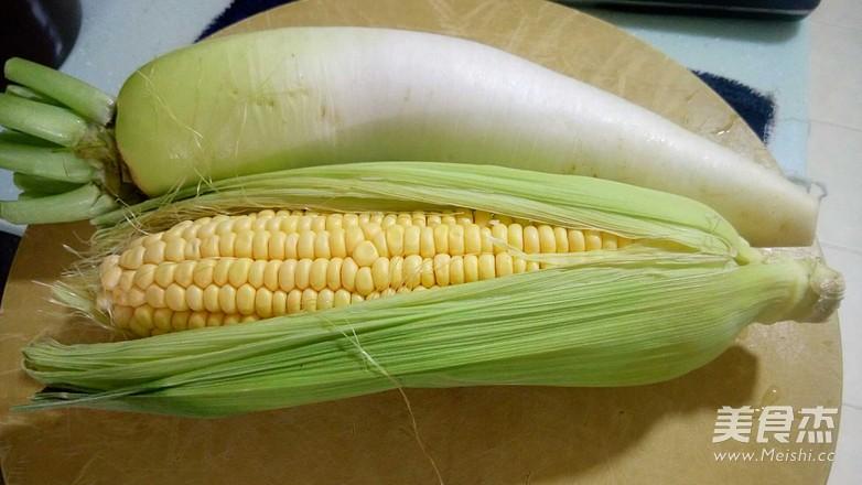 白罗卜玉米排骨汤的做法大全