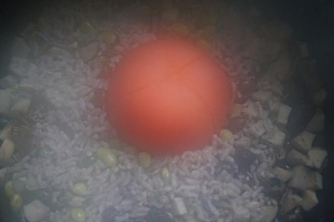 番茄菌菇杂粮饭怎么炒