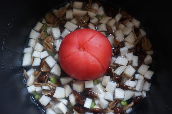 番茄菌菇杂粮饭怎么做