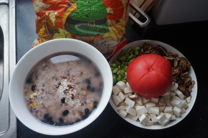 番茄菌菇杂粮饭的做法大全