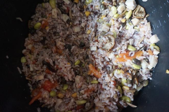 番茄菌菇杂粮饭怎么煮