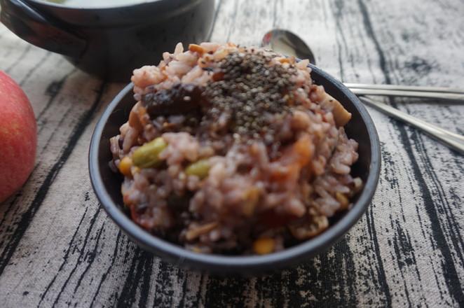 番茄菌菇杂粮饭怎么炖