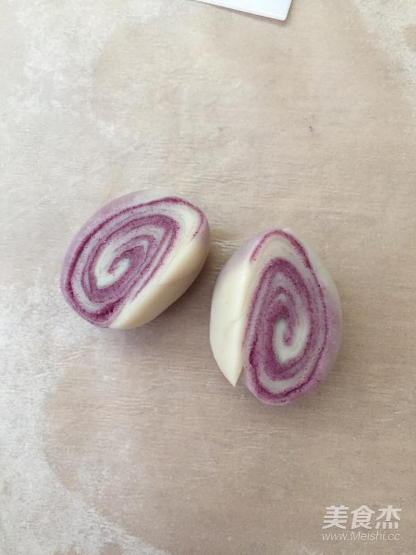 麻薯芋头紫薯酥的制作方法