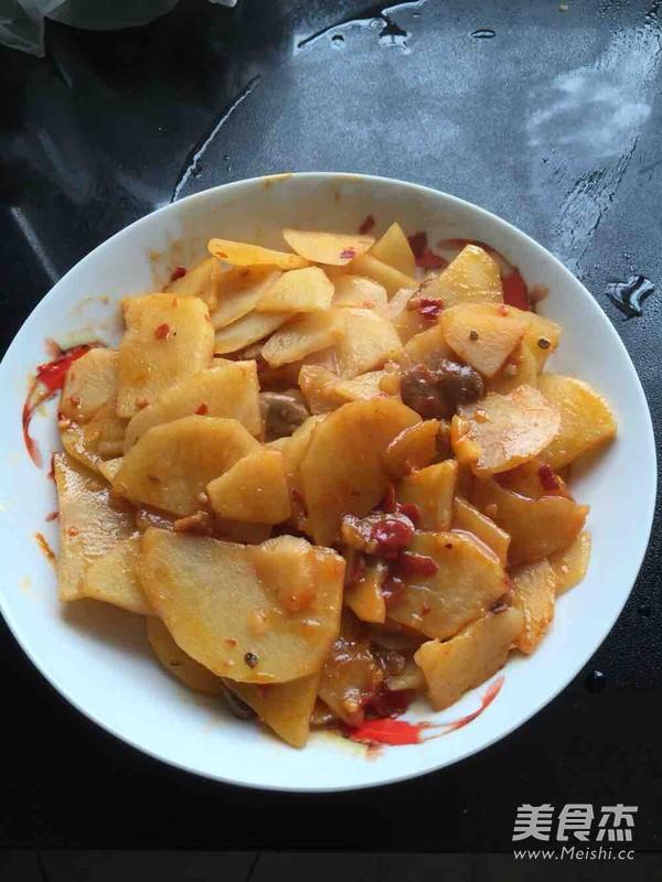 香辣土豆片怎么吃