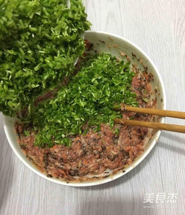 芽苗菜饺子怎么煮