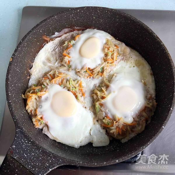 鸟巢鸡蛋饼怎么煮