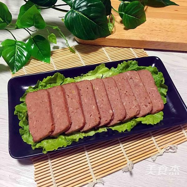 自制午餐肉怎样煮