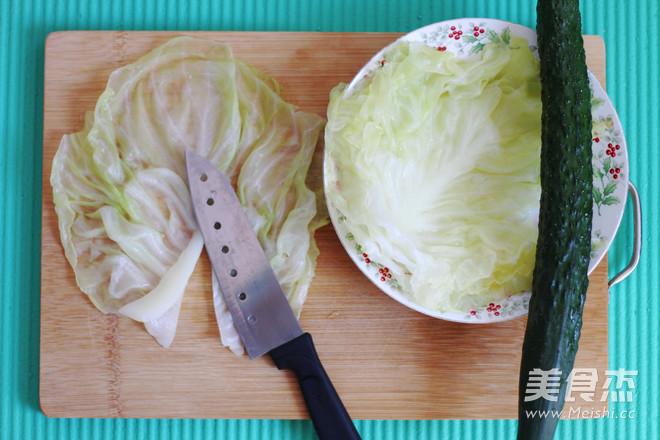 卷心菜卷的步骤