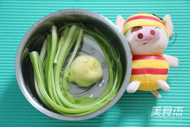 凉拌芹菜土豆丝儿的做法大全