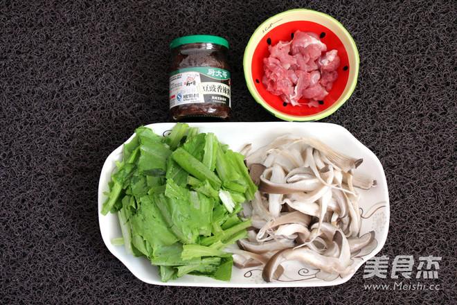 平菇油麦菜的做法图解