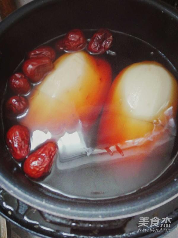 红枣糯米藕怎么吃