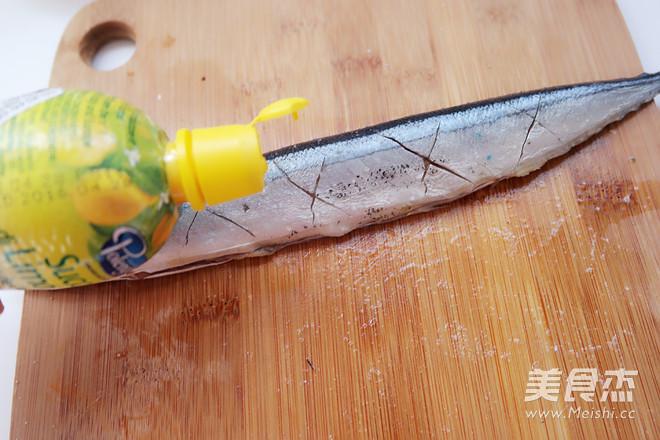 盐煎秋刀鱼的简单做法