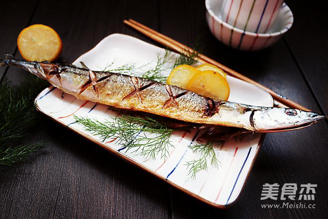 盐煎秋刀鱼怎么煮