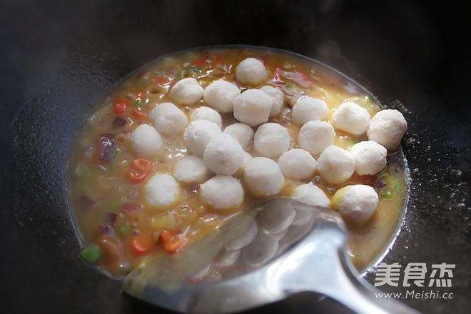 咖喱鱼蛋怎么煮