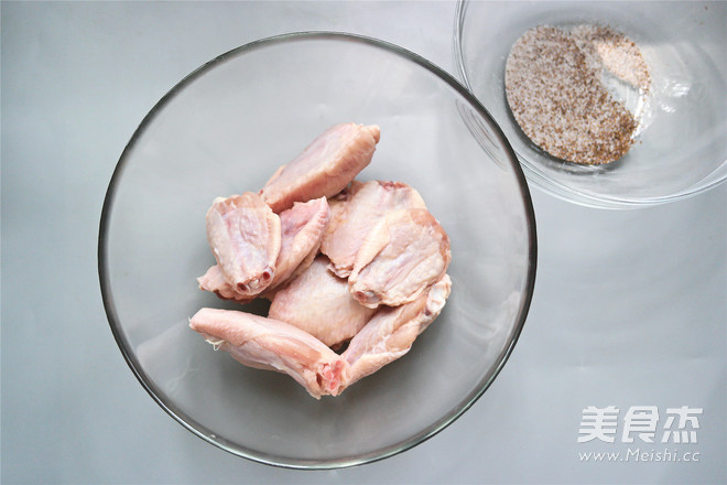 微波炉椒盐鸡翅的做法大全