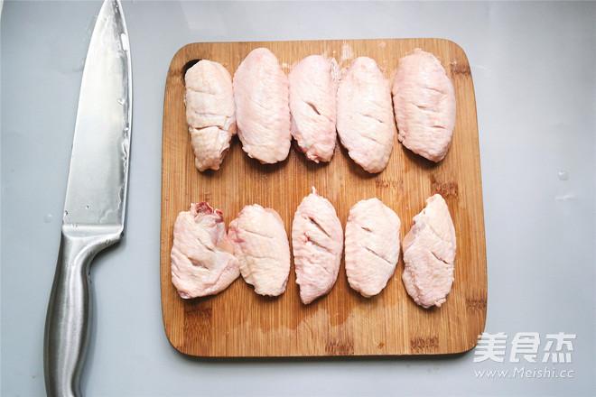 微波炉椒盐鸡翅的家常做法