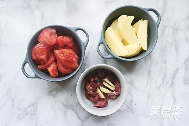 番茄土豆牛肉浓汤的做法大全