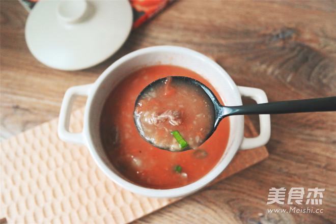 番茄土豆牛肉浓汤怎么炖