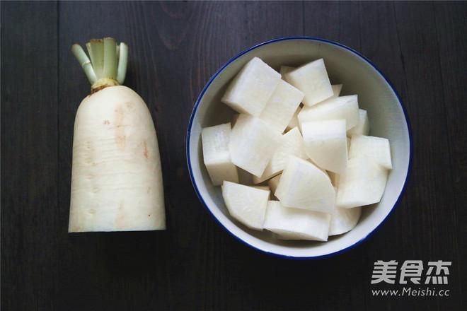 白萝卜炖羊肉的做法大全