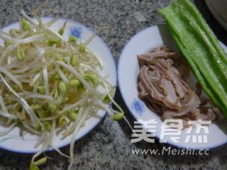 尖椒猪肚炒黄豆芽的做法大全