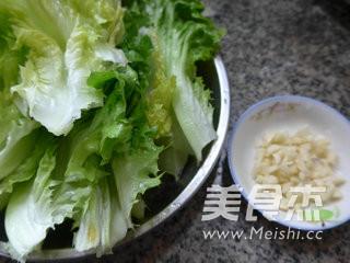 蒜香生菜的做法大全