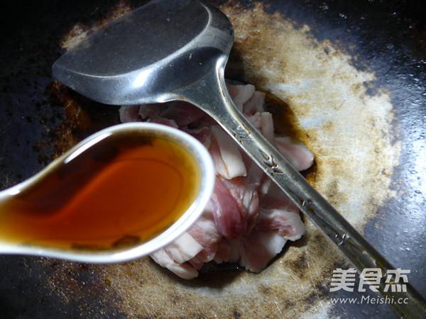鸡蛋蒸盐炒肉的家常做法