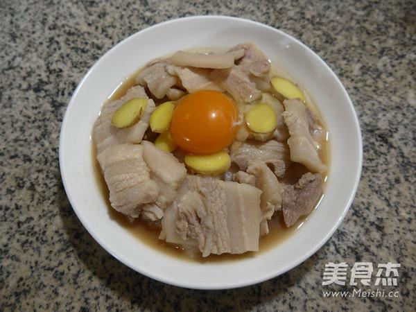 鸡蛋蒸盐炒肉怎么做